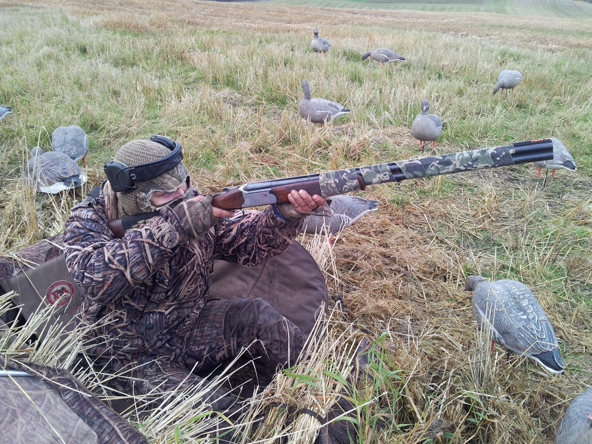 Pink-footed goose hunter, Norway. Photo by: Ove Martin Gundersen