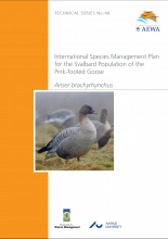 Svalbard Pink-footed Goose International Species Management Plan front cover