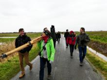IWG field trip, Flemish East Coast Polders. Photo: Eckhart Kuijken