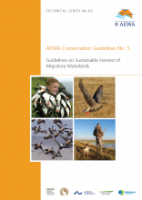 Guidelines on Sustainable Harvest of Migratory Waterbirds (AEWA Technical Series No. 62)