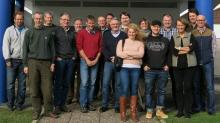 Norwegian and Danish stakeholder group photo, Hotel Fjordgården, Ringkøbing, Denmark