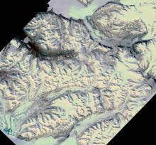 Sassendalen snow cover (source: MODIS)