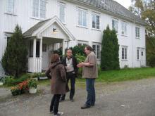 Landowner interview, Nord-Trøndelag, Norway. © Ingunn M. Tombre